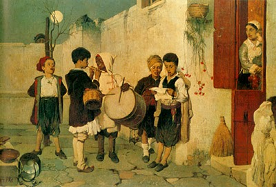Φωτό: πίνακας του Νικηφόρου Λύτρα, ο μικρός τυμπανιστής.